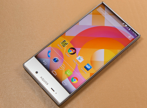 Sharp AQUOS Crystal SH85Wi